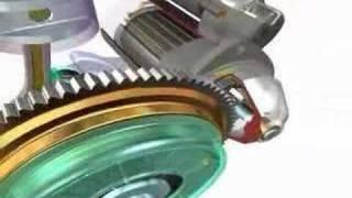 Marş motorunun yapısı