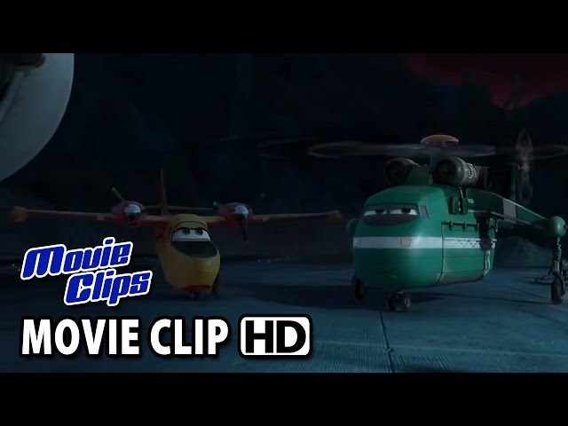 Planes: Fire & Rescue Movie CLIP - Make It Count (2014) HD