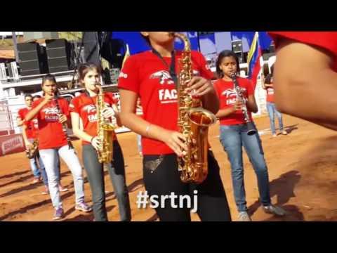25/08/2016 - Ensaio para Abertura do Rodeio Internacional na Festa Peão de Barretos