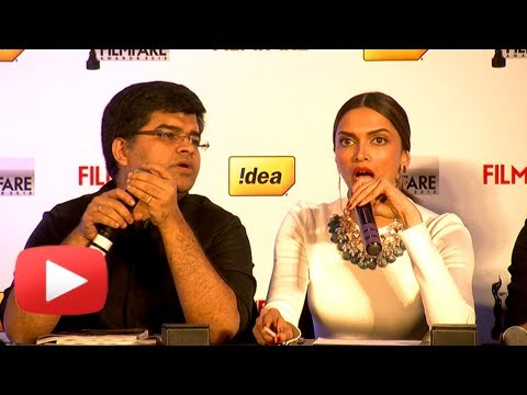 Deepika Padukone's Uncut Interview- 59th Idea Filmfare Awards Issue Event
