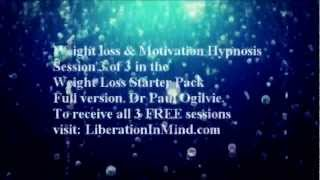 FREE Weight Loss & Motivation Hypnosis Session 3 Of 3