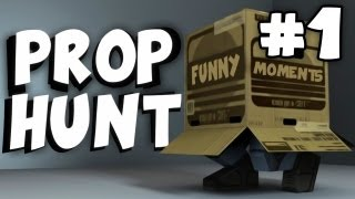 Prop Hunt Funny Moments Montage #1