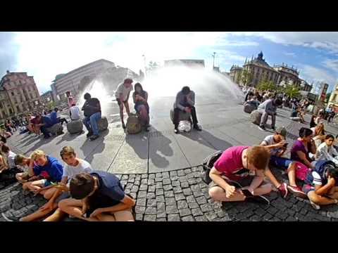 video-Praxistest: Mit der Somikon 360 Grad Action in München