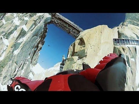 First Ever Wingsuit Flight UNDER Aiguille du Midi Bridge   The Perfect Flight, Ep. 2