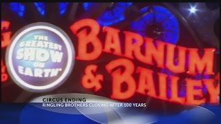 Ringling Bros. Barnum & Bailey closing forever