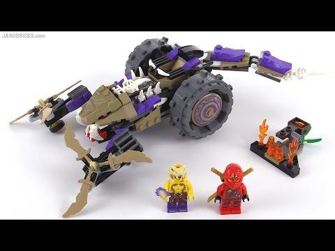 LEGO Ninjago Anacondrai Crusher review! set 70745