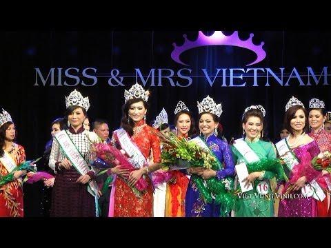 Cuộc Thi Hoa Hậu Miss & Mrs Vietnam USA 2014 tại San Jose, Hoa Kỳ