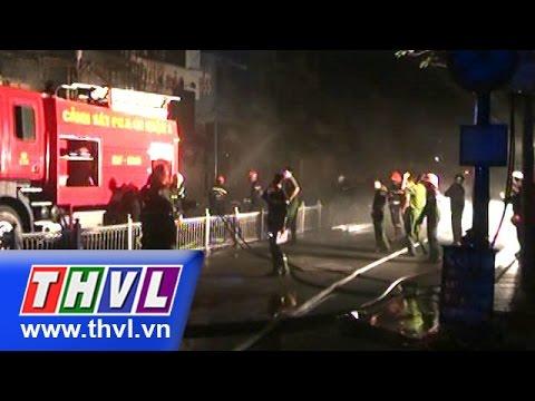 Cháy 8 căn nhà ở trung tâm TPHCM, 1 người tử vong