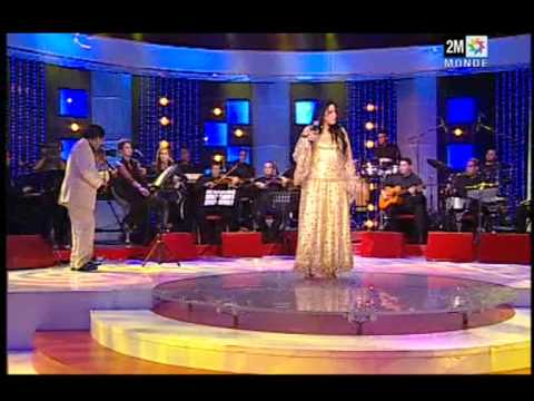 La Diva  NAJAT ATABOU ana jit ana jit wana j'en ai mare chaabi chanson  Marocaine 2M MAROC