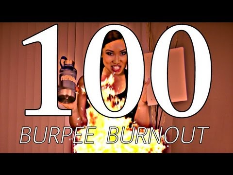 The 100 Burpee Burnout | POP Cardio