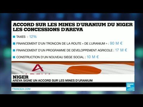 Uranium : Areva et le Niger signent un nouvel accord - Économie