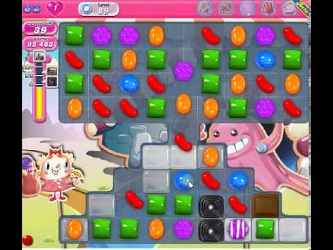 How to beat Candy Crush Saga Level 89 - 3 Stars - No Boosters - 202