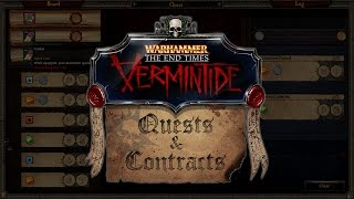 Warhammer: End Times - Vermintide - Quests & Contracts DLC Trailer