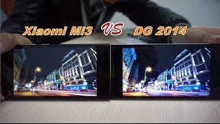 Xiaomi Mi3 VS DOOGEE DG2014 5 Pulgada IPS OGS 6.3mm Ultra