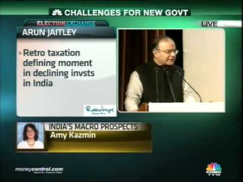 Chidambaram's successor will be a worried man: Jaitley -  Part 3