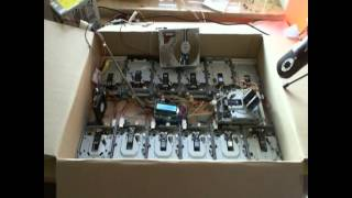 Marc Almond Sings Tainted Love Played by Floppy Disc Drives: Official