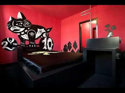 Pintura mural para habitaciones infantiles y juveniles - Colores para pintar dormitorios juveniles ...