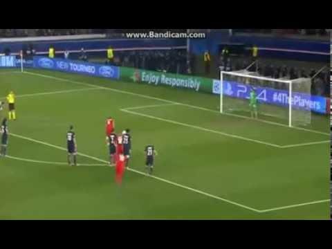 Salvatore Sirigu Great Penalty Save | PSG 1-1 Bayer Leverkusen