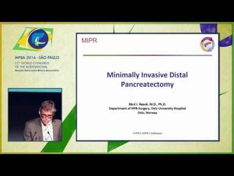 MIPR Conference: Minimally Invasive Distal Pancreatectomy - Bård Røsok