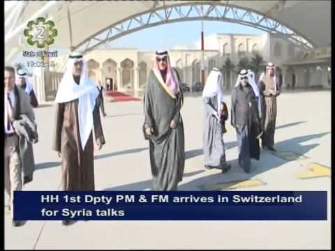 First Deputy Premier & Foreign Minister arrives in Switzerland for Geneva II Talks