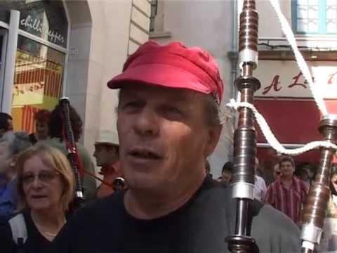 Feria de pentec te la pe a au son de la cornemuse tele for Tele miroir nimes