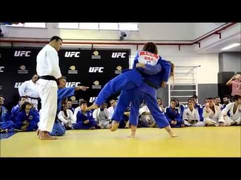 Ronda Rousey UFC Champion Judo
