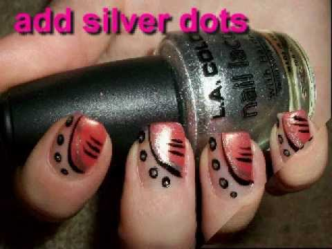 Simple Nail Art Design For Short Nails Nail Designs Video