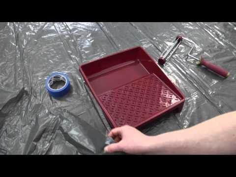 Śnieżka - film instruktażowy Śnieżka Satynowa malowanie krok po kroku