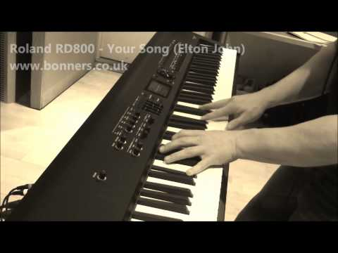 Roland RD800 Piano Sound Demo
