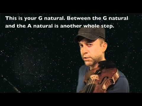 Learn the natural notes on the violin E-string.m4v