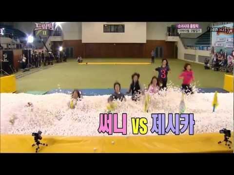 SNSD Jessica's hidden athletic talent