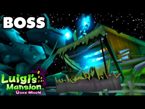 Luigi's Mansion Dark Moon - Haunted Towers - Tree Topping Boss Fight (Nintendo 3DS Walkthrough)