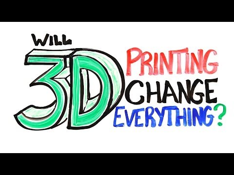 3D Printing to Change  tech world
