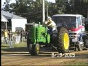 Antique tractor pull at Nowthen Minnesota