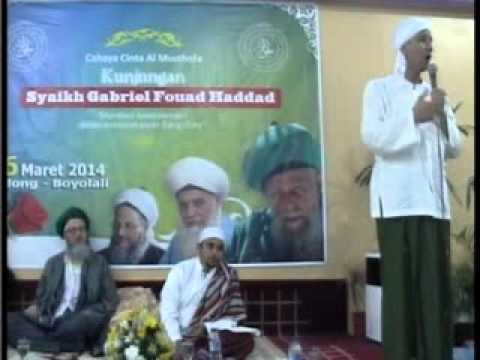 Syaikh Gibril Fouad Hadad at Boyolali Central Java Indonesia PART 2