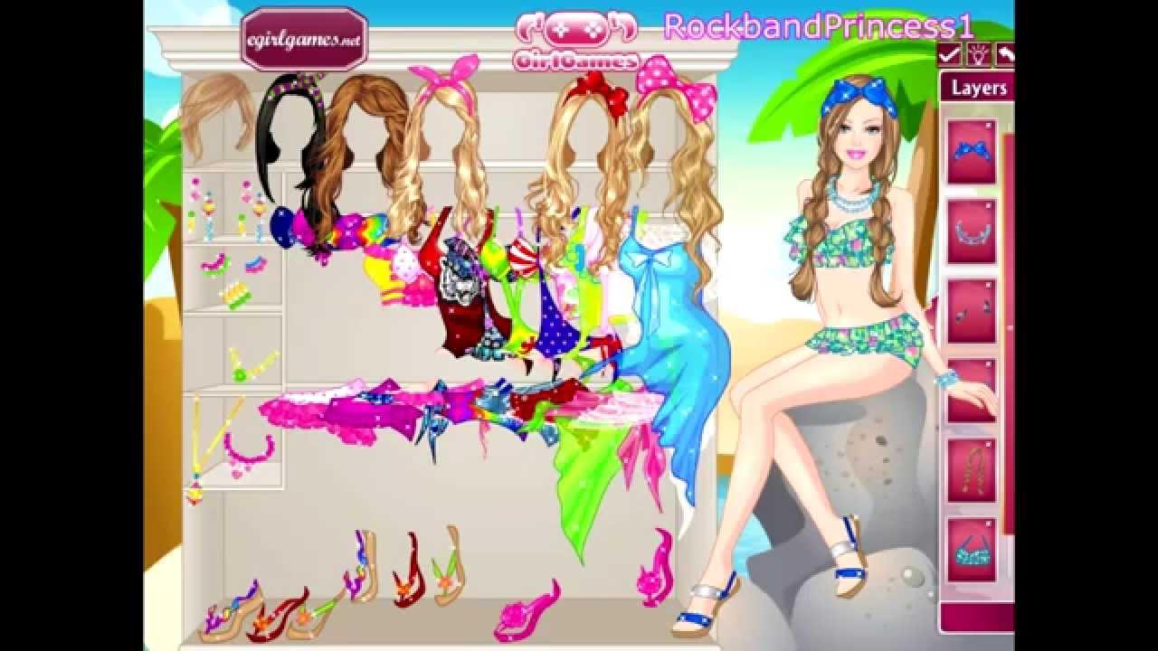 dress up games barbie online