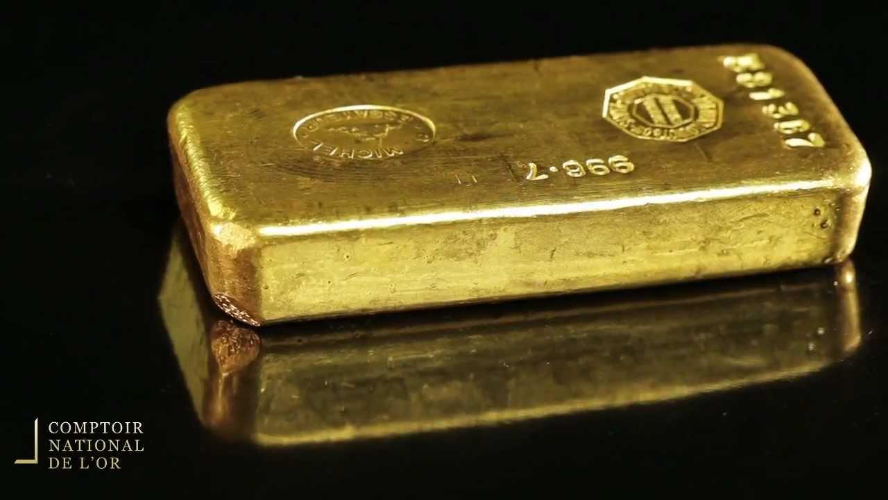 Lingot 1 kg en Or - Comptoir National de l'Or (Gold.fr)