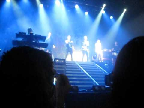 The Wanted - Gold Forever - Montreal
