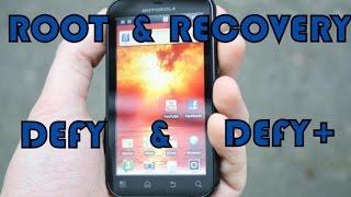 Instalar Root + Recovery Motorola Defy / Defy + (MB525