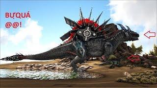 ARK SURVIVAL RAGNAROK Tập 70: Chúa tể Spinosaurus với cối xoay khổng lồ