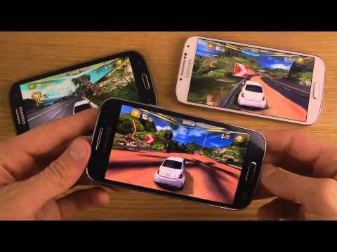 Samsung Galaxy S4 Mini vs. Samsung Galaxy S3 vs. Samsung Galaxy S4 - Asphalt 7 Gameplay Review