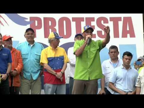 Henrique Capriles desfía a Nicolás Maduro