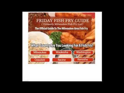 Waukesha fish fry guide youtube for Fish fry brookfield wi
