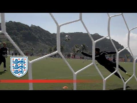 England v Uruguay training | Inside Access
