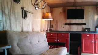 Enclosed Trailer To Hunting Camper Conversion