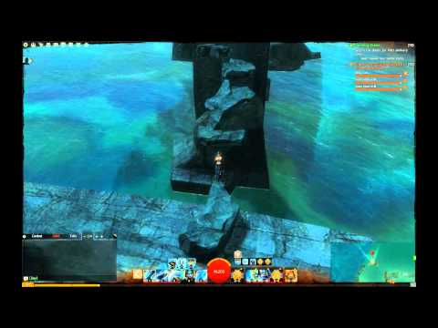 GW2 Exploration - Drowned Brine Vista` Malchor`s Leap
