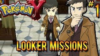Pokemon X & Y Looker Bureau Missions Part 1: The Golden