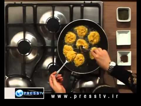 Press TV Iran Cooking Kookoo Sibzamini 06 20 2010