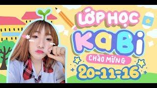Lớp Học Kabi  - Chào Mừng 20/11/2016 - Trần Ngọc Cát Phương - Huỳnh Phụng