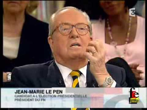 France Europe Express avec Jean-Marie Le Pen le 15/03/2007